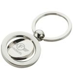 Spinning Metal Keyring