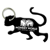Monkey Shaped Bottle Opener Keychai
