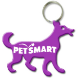 Dog Bottle Opener Key Ring