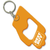 Hand Shape Bottle Opener Keychain