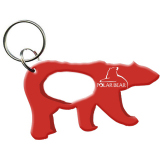 Polar Bear shape bottle opener