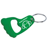 Small Foot Bottle Opener Keychain