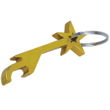 Star Bottle Opener Keychain