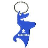 Deer Head Keychain Bottle Opener Ke