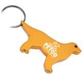 Dog Shape Bottle Opener Key Chain