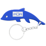Dolphin Bottle Opener Key Chain