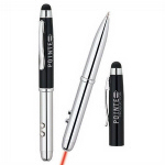 4 in 1 Ballpoint Pen Laser Pointer Light Stylus