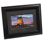 Deluxe Wood Digital Picture Frame
