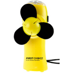 Turbo Mini Fan Flashlight