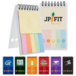 Pocket Size Spiral Bound Flag Jotte