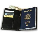 Roomy Passport Wallet