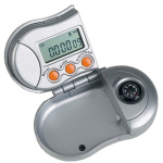 Pedometer With Compass