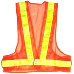 16 LED Light Reflective Safety Vest