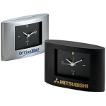 Wide Screen Alarm Analog Clock
