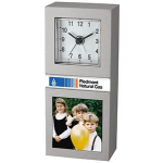 Desk Clock With Picture Frame