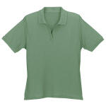 Womens Organic Cotton Pique Polo