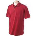 Cotton Polo With Hemmed Sleeve