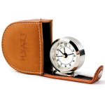 Polished Chrome Travel Alarm Clock