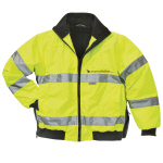 Durable Jacket With Fleece-Lined Co