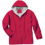 Nylon Jacket With Zippered Pocket