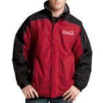 Nylon Jacket With Microfleece Colla