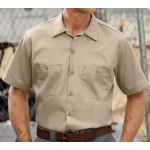Mens Short Sleeve Workshirt