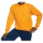 Youth Polyester Crewneck Sweatshirt