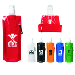 16 oz. Folding Water Bottle