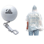 Golf Poncho With Spring Clip