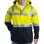 Zipper Jacket With Adjustable Hood