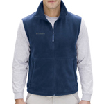 Polyester Open Hem Fleece Vest