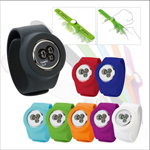 Silicone Band Digital Watch
