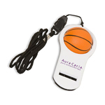 Basketball Whistler With Lanyard