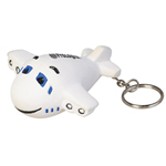 Airplane Stress Reliever Key Chain