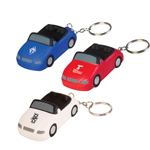Sports Car Stress Reliever Keychain