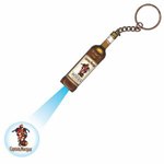 Logo Bottle Projector Keychain
