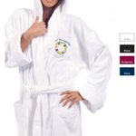 12 Oz Cotton Terry Velour Robe
