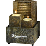 Two Tealight Tranquility Fountain