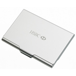 Aluminum Business Card Holder