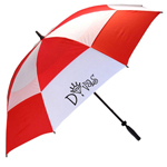 Golf Turns Wind Buster Umbrella