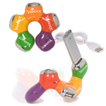 Tangle Adjustable USB Hub