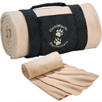 Fleece Blanket With Carrying Wrap