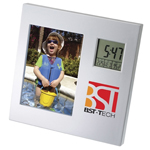 Rotating Clock Picture Frame
