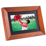 Wood Digital Picture Frame