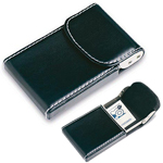 Flip-Top Business Card Case