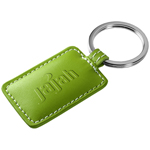 Rectangular Leather Key Fob