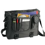 Adjustable Recycled Messenger Bag