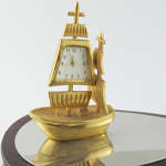 Die Cast Sailing Ship Clock
