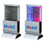 Digital Clock And Thermometer With