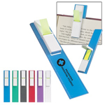 Book Mark Ruler With Sticky Flags
